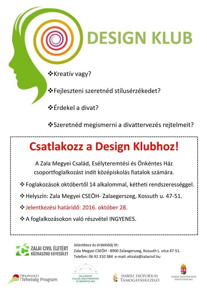 design-klub-felhivas