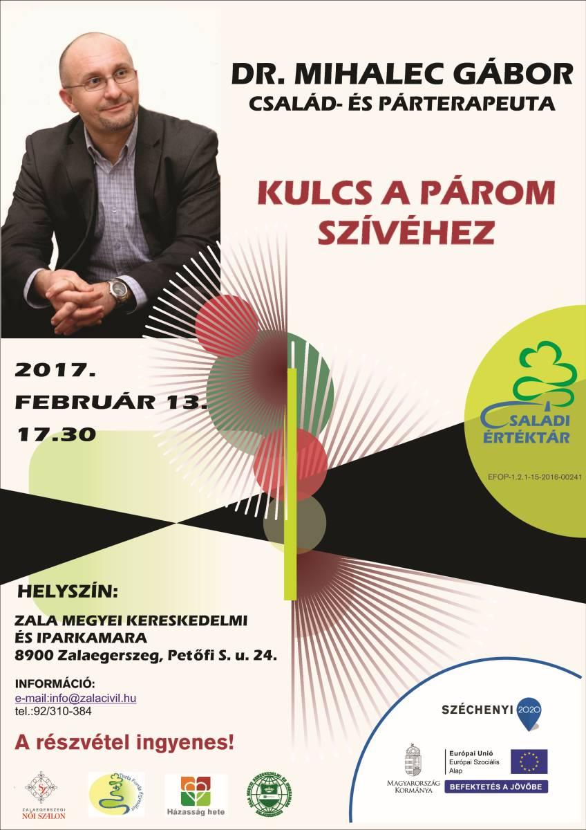 Mihalec Gábor plakát 2017