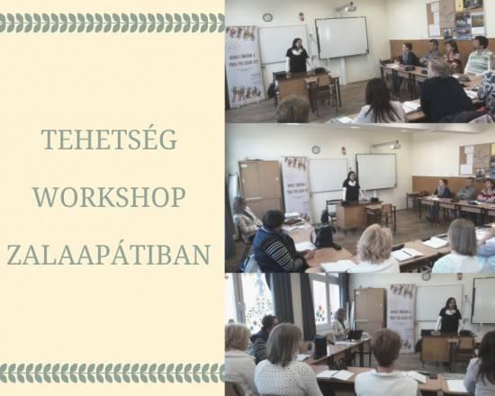 Tehetség Workshop Zalaapátiban
